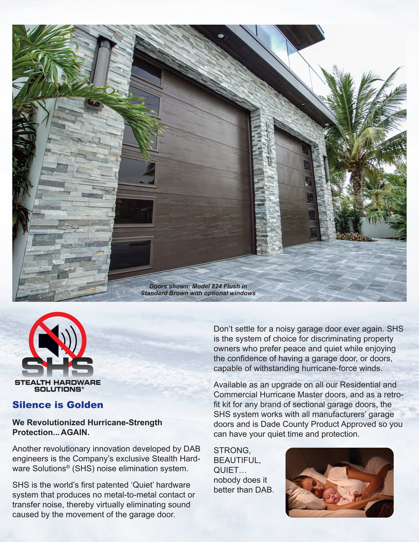 Worlds Strongest Garage Doors Shs Quiet Harware